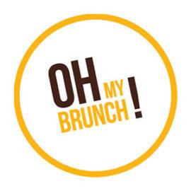 logo oh my brunch